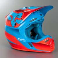 Helma Fox Racing V3 Flight red/blue