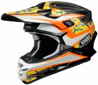 SHOEI VFX-W - Turmoil TC-8 - orange/black