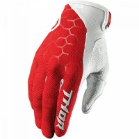 THOR Draft Glove - indi red/white