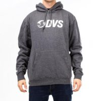 Mikina DVS CORE LOGO PULL CHARCOAL