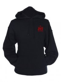 Mikina DVS STAMP PULLOVER BLACK/RED