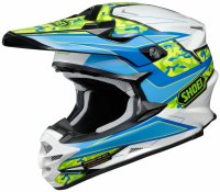 SHOEI VFX-W - Turmoil TC-2 - blue/white