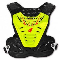 Chranič hrudi Ufo reactor 2 evolution black/yellow